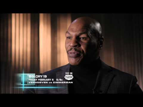 Video – GLORY 19: Mike Tyson Interviews Errol Zimmerman