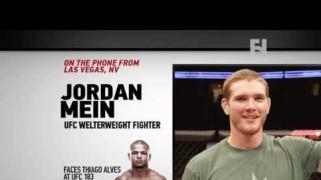 FN Video: UFC 183: Jordan Mein Ahead of Thiago Alves Bout