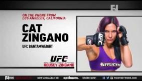 FN Video: UFC 184: Cat Zingano on Ronda Rousey, Fight Week