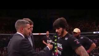 Video – UFC Fight Night Rio: Erick Silva Octagon Interview