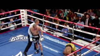 Video – ShoBox: Galarza KOs Thompson