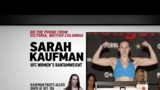 "FN Video: UFC 186: Sarah Kaufman – ""Going To Be Exciting"""