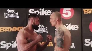 BAMMA 20 Weigh-in Results & Video from Birmingham