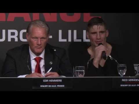 Video – GLORY 22 Lille Post-Fight Press Conference