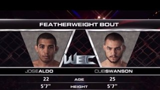 Video – UFC 189 Free Fight: Jose Aldo vs. Cub Swanson
