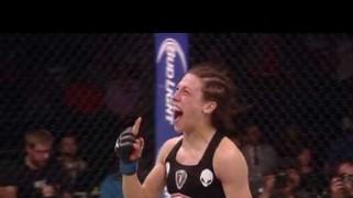 Video – UFC Fight Night: Rousey, McGregor on Jedrzejczyk