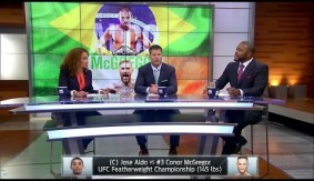 Video – UFC 189: UFC on FOX Panel Previews Main Event