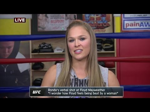 Video – Ronda Rousey on Calling Out Floyd Mayweather