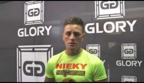 Video – GLORY 23: Nieky Holzken Pre-Fight Interview