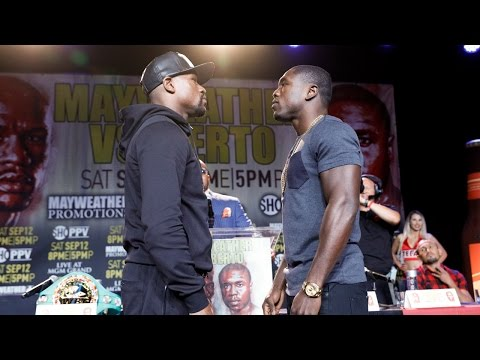 Video – Mayweather vs. Berto Kickoff Presser Highlights