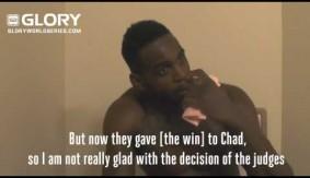 Video – GLORY 23: Murthel Groenhart Post-Fight Interview
