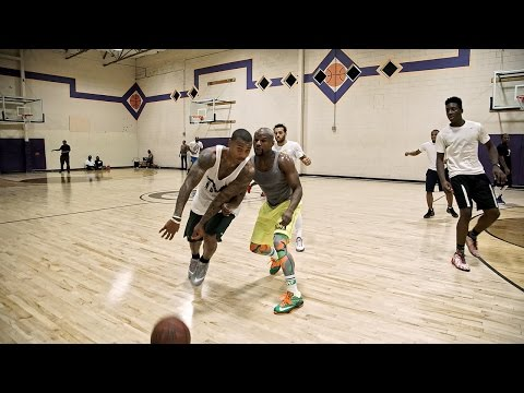 Video – All Access: Mayweather Balls with Celtics' Thomas