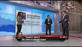Video - Fuel TV: Chael Sonnen Hits Jon Jones Below the Belt