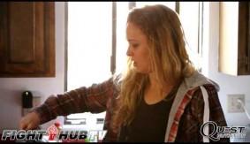 Video - Ronda Rousey Talks High School, Avril Lavigne