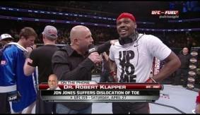 Video - UFC Tonight: Jon Jones Gruesome Toe Injury Explained