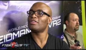 Video - Anderson Silva Talks Chris Weidman, Jon Jones