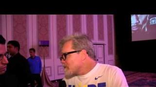 Video – Freddie Roach Post-Fight Interview