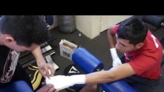 Video – Juan Carlos Burgos Training Camp