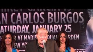 Videos – Garcia vs. Burgos Press Conference & Interviews