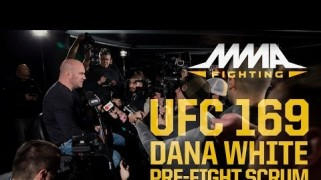 Videos – Ariel Helwani UFC 169 Pre-Fight Interviews, Scrums
