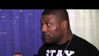 "Video – 'Rampage' Jackson: ""Tyrone Spong Sucks"""