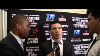 "Video – Sergio Martinez: ""Miguel Cotto Not a Man"""