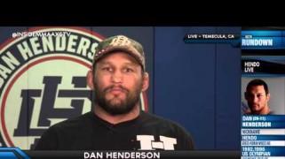 Videos – Inside MMA: Dan Henderson Talks Future Post-TRT Ban