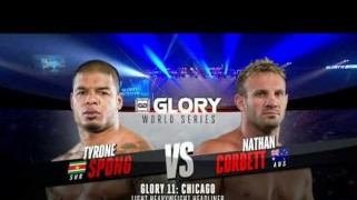 Video – GLORY Free Fight: Tyrone Spong vs. Nathan Corbett