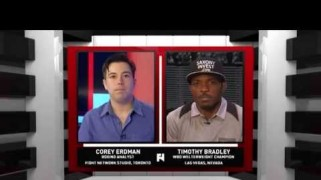 FN Video: Timothy Bradley Has Words For Manny Pacquiao
