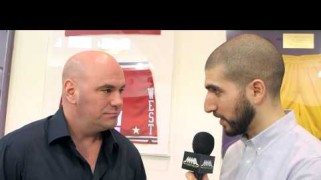 Video – UFC on FOX 11: Dana White Pre-Fight Interview