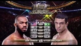 Video - UFC 172 Free Fight: Jon Jones vs. Vitor Belfort