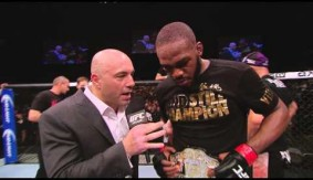 Video - UFC 172: Jon Jones Octagon Interview